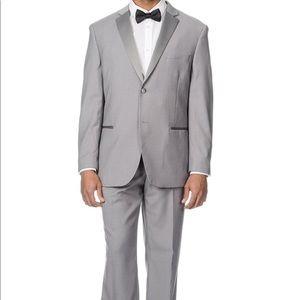 Mens Grey Tuxedo